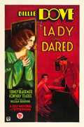"Movie Posters:Drama, The Lady Who Dared (Warner Brothers, 1931). One Sheet (27"" X 41"")Style B.. ..."