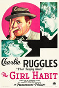"""Movie Posters:Comedy, The Girl Habit (Paramount, 1931). One Sheet (27"""" X 41"""").. ..."""