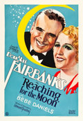 "Movie Posters:Comedy, Reaching for the Moon (United Artists, 1930). Portrait Style OneSheet (27"" X 41"").. ..."