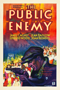 "The Public Enemy (Warner Brothers, 1931). One Sheet (27"" X 41"") Style B"