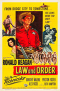 """Movie Posters:Western, Law and Order (Universal International, 1953). One Sheet (27"""" X41"""").. ..."""