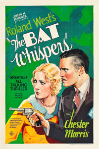 "The Bat Whispers (United Artists, 1930). One Sheet (27"" X 41""). Style B"