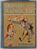 Books:Children's Books, L. Frank Baum. Dorothy and the Wizard in Oz. Chicago: Reilly& Britton, [1908]. First edition, second issue. Octavo....