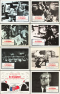 "Movie Posters:Comedy, Dr. Strangelove or: How I Learned to Stop Worrying and Love theBomb (Columbia, 1964). Lobby Card Set of 8 (11"" X 14"").. ...(Total: 8 Items)"
