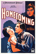 "Movie Posters:Drama, Homecoming (Paramount/UFA, 1928). One Sheet (27"" X 41"").. ..."