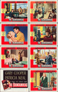 "Movie Posters:Drama, The Fountainhead (Warner Brothers, 1949). Lobby Card Set of 8 (11""X 14"").. ... (Total: 8 Items)"
