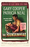 "Movie Posters:Drama, The Fountainhead (Warner Brothers, 1949). One Sheet (27"" X 41"")....."