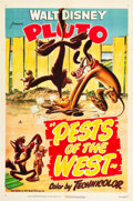 "Movie Posters:Animation, Pests of the West (RKO, 1950). One Sheet (27"" X 41"").. ..."