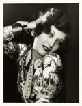 "Movie Posters:Photo, Joan Crawford in Dream of Love by Ruth Harriet Louise (MGM, 1928).Portrait Photo (10"" X 13"").. ..."