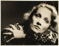 "Movie Posters:Miscellaneous, Marlene Dietrich in Morocco (Paramount, 1930). Portrait Photo(10.5"" X 13.5"").. ..."