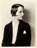 "Movie Posters:Photo, Louise Brooks by Eugene Robert Richee (Paramount, Late 1920s).Portrait Photo (10"" X 13"").. ..."