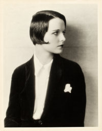"Louise Brooks by Eugene Robert Richee (Paramount, Late 1920s). Portrait Photo (10"" X 13"")"