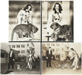 """Movie Posters:Comedy, Bringing Up Baby (RKO, 1938). Photos (4) (7.5"""" X 9.5"""").. ...(Total: 4 Items)"""