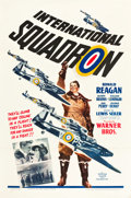 "Movie Posters:War, International Squadron (Warner Brothers, 1941). One Sheet (27"" X 41"").. ..."