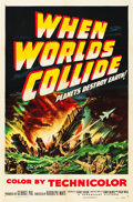 "Movie Posters:Science Fiction, When Worlds Collide (Paramount, 1951). One Sheet (27"" X 41"").. ..."