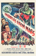 """Movie Posters:Science Fiction, Invaders from Mars (20th Century Fox, 1953). One Sheet (27"""" X 41"""").. ..."""