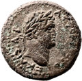 Ancients:Judaea, Ancients: Titus (AD 79 - 81). AE (20mm, 7.87 gm, 12h). ...