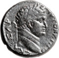 Ancients:Judaea, Ancients: Titus (AD 79 - 81). AE (25mm, 12.57 gm, 12h). ...