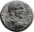 Ancients:Judaea, Ancients: Sebaste, Samaria. Septimius Severus (193 - 211 AD). AE(33mm, 30.04 gm, 2h). ...