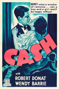 "Movie Posters:Comedy, Cash (Mundus, 1934). One Sheet (27"" X 41"").. ..."