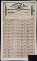 Confederate Notes:Group Lots, Ball 323 Criswell 144A $1000 Confederate Bond.. ...