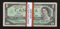 Canadian Currency: , A Large Lot of $1 1954 Issues.. ... (Total: 52 notes)