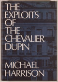 Books:Mystery & Detective Fiction, Michael Harrison. The Exploits of the Chevalier Dupin. Sauk City: Mycroft & Moran, 1968. First edition, one of 2,000...