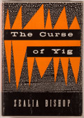 Books:Horror & Supernatural, Zealia B. Bishop. The Curse of Yig. Sauk City: Arkham House,1953. First edition, one of 1,200 copies. Octavo. 1...