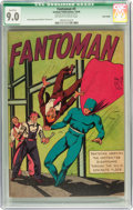 Golden Age (1938-1955):Superhero, Fantoman #3 Billy Wright pedigree (Centaur, 1940) CGC QualifiedVF/NM 9.0 Off-white to white pages....
