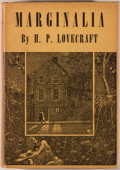 Books:Horror & Supernatural, H. P. Lovecraft. Marginalia. Sauk City: Arkham House, 1944.First edition. Octavo. 377 pages. Publisher's binding, d...