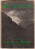 Books:Horror & Supernatural, [August Derleth, editor]. Dark of the Moon. Poems of Fantasy andthe Macabre. Sauk City: Arkham House, 1947. First e...