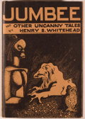 Books:Horror & Supernatural, Henry S. Whitehead. Jumbee and Other Uncanny Tales. SaukCity: Arkham House, 1944. First edition. Octavo. 394 pages....