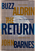 Books:Science Fiction & Fantasy, [Astronaut]. Buzz Aldrin and John Barnes. SIGNED BY ALDRIN. TheReturn. New York: TOR, [2000]. First edition, first ...