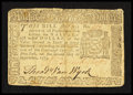 Colonial Notes:New York, New York September 2, 1775 $1/2 Fine.. ...