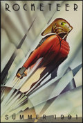 "Movie Posters:Action, The Rocketeer (Walt Disney Pictures, 1991). One Sheet (27"" X 40"").Advance. Action.. ..."