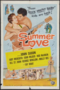 "Movie Posters:Rock and Roll, Summer Love and Other Lot (Universal International, 1958). OneSheets (2) (27"" X 41""). Rock and Roll.. ..."