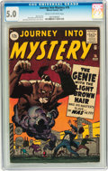 Silver Age (1956-1969):Mystery, Journey Into Mystery #76 (Marvel, 1962) CGC VG/FN 5.0 Cream tooff-white pages....