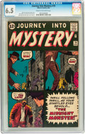 Silver Age (1956-1969):Horror, Journey Into Mystery #79 (Marvel, 1962) CGC FN+ 6.5 Cream tooff-white pages....