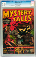Golden Age (1938-1955):Horror, Mystery Tales #2 (Atlas, 1952) CGC VG- 3.5 Cream to of-whitepages....
