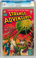 Golden Age (1938-1955):Science Fiction, Strange Adventures #6 (DC, 1951) CGC GD/VG 3.0 Cream to off-whitepages....