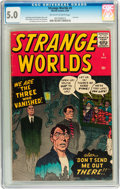 Silver Age (1956-1969):Horror, Strange Worlds #5 (Marvel, 1959) CGC VG/FN 5.0 Off-white to whitepages....