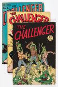 Golden Age (1938-1955):Crime, Challenger #2-4 Group (Interfaith Committee, 1945-6) Condition: Average VG.... (Total: 3 Comic Books)