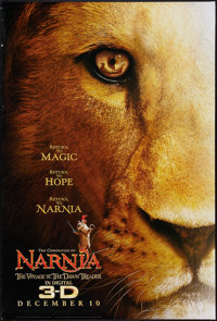 """Chronicles of Narnia: The Voyage of the Dawn Trader (20th Century Fox, 2010). One Sheet (27"""" X 40""""). DS Advanc..."""