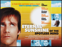 "Eternal Sunshine of the Spotless Mind (Focus Features, 2004). British Quad (30"" X 40""). Drama"