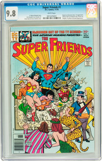 Super Friends #1 (DC, 1976) CGC NM/MT 9.8 White pages