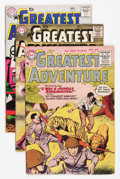 Silver Age (1956-1969):Adventure, My Greatest Adventure Group (DC, 1955-64) Condition: Average VG+.... (Total: 13 Comic Books)