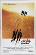"Movie Posters:Science Fiction, Invasion of the Body Snatchers (United Artists, 1978). One Sheet(27"" X 41""). Advance. Science Fiction.. ..."