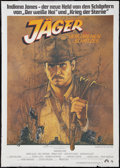"Movie Posters:Adventure, Raiders of the Lost Ark (Paramount, 1981). German A0 (33"" X 46"").Adventure.. ..."