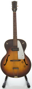 Musical Instruments:Electric Guitars, 1956 Gibson ES-125 Sunburst Archtop Electric Guitar, Serial #V5031-9....
