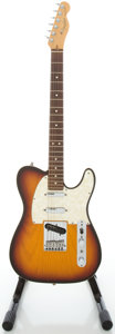 Musical Instruments:Electric Guitars, 1996 Fender Telecaster USA Plus Sunburst Solid Body Electric Guitar, Serial #N6175995....